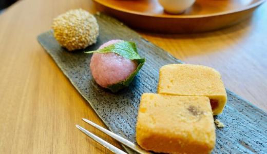 王德傳(ワンダーチュアン)コレド室町テラス 誠品生活日本橋店で台湾ウーロン茶セットをいただく
