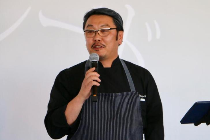 ヒルトン東京お台場総料理長の水口雅司さん