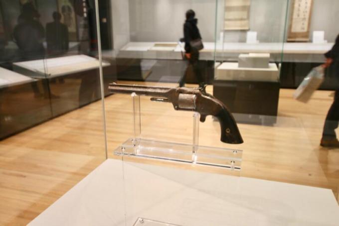 スミス&ウェッソンⅡ型(模型)