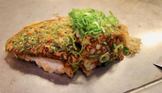 【新橋】本場広島お好み焼き&鉄板焼 ソニアで餅チーズ入りお好み焼き「ヤングマン」が美味しかった
