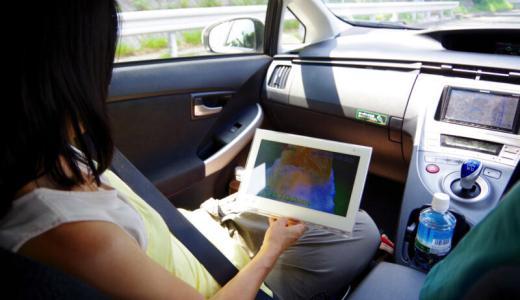 SDカードで番組を持ち出し!「プライベート・ビエラ」を車で見てみたよ