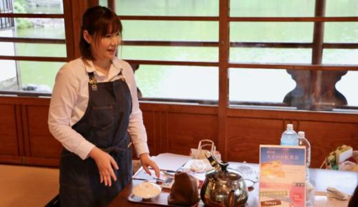 清澄庭園の涼亭で第6回スイーツ紅茶会!関東で人気のOMIYAを食べ比べてきた #スイーツ紅茶会