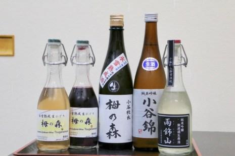 氷雪熟成酒の生原酒とにごり酒「栂の森」