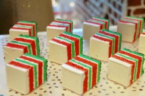 クリスマスシマシマ バタークリームケーキ
