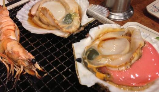 【新宿西口思い出横丁】トロ函で新鮮なホタテを浜焼きしてきた!