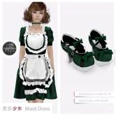 Tokyo.Girl Maid Dress Green Ad