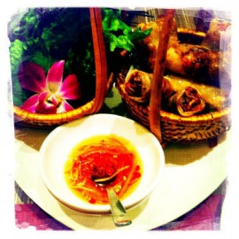 ベトナム料理に舌鼓