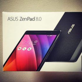 Androidタブレット「ASUS ZenPad 8.0」到着。