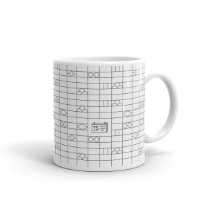 Japanese Brick Wall - Mug 11oz