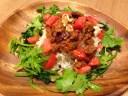 高野豆腐のタコライス