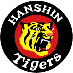 Clean Hanshin Tigers Logo