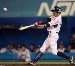 Ueda's big swing gave Tokyo a two-run advantage.