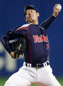 Yagi kept Chunichi off the board for the first six innings.