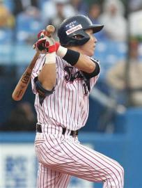 Another solid day at the plate for Tokyo's platoon shortstop.