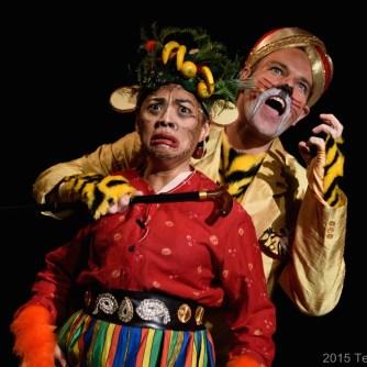 Arlene and tiger