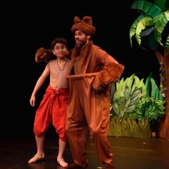 Baloo and Mowgli square