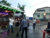 Boozy Blow-Out in Bikin, Russia
