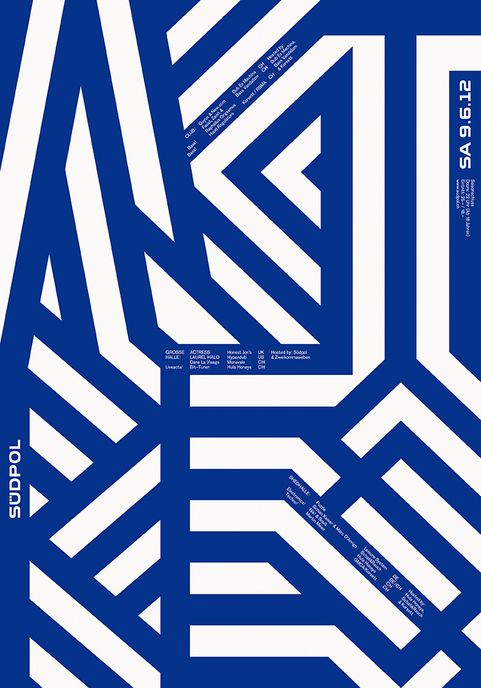 Felix Pfäffli|Südpol Poster Series