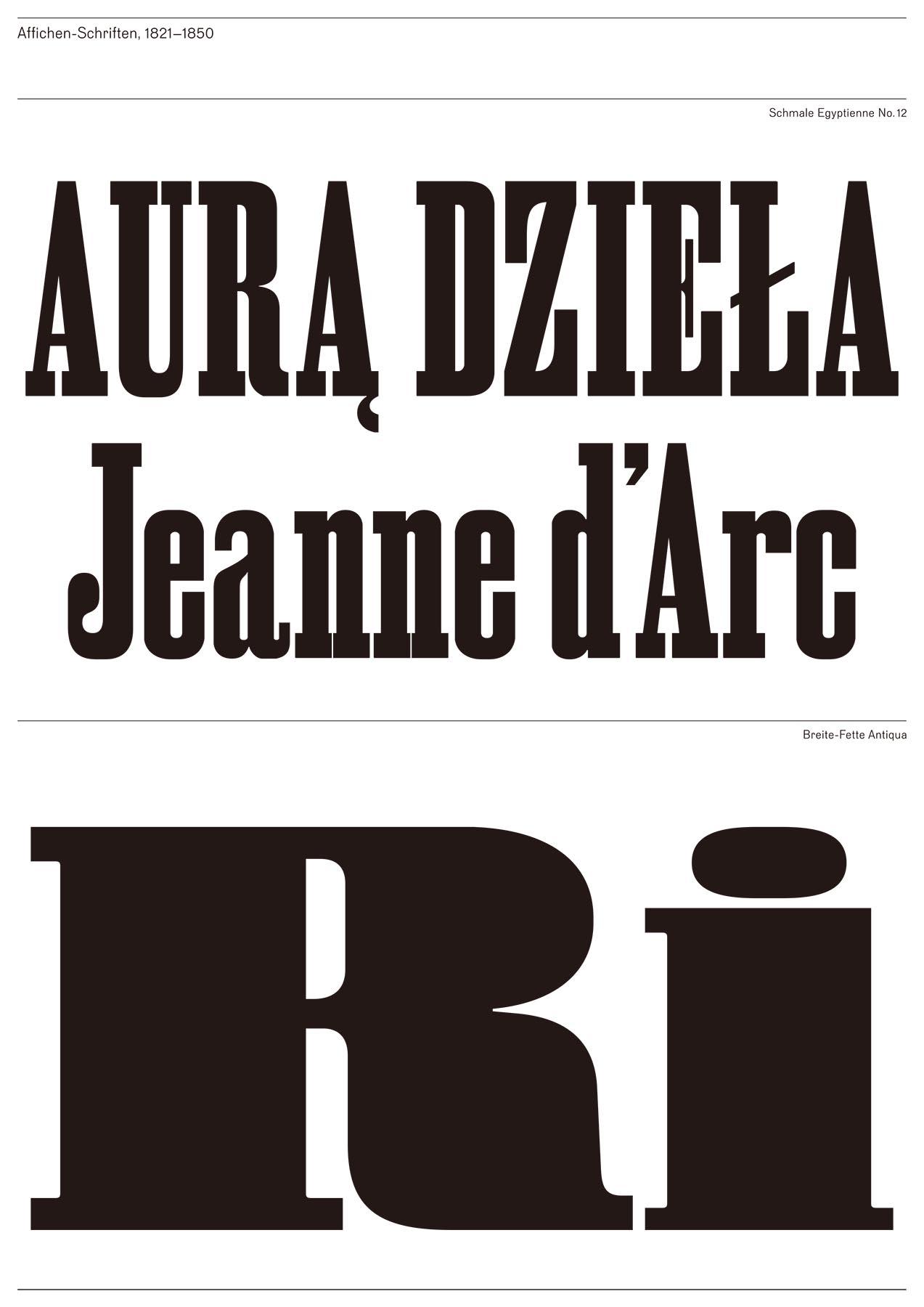 Pierre Pané-Farré|Affichen-Schriften FSL