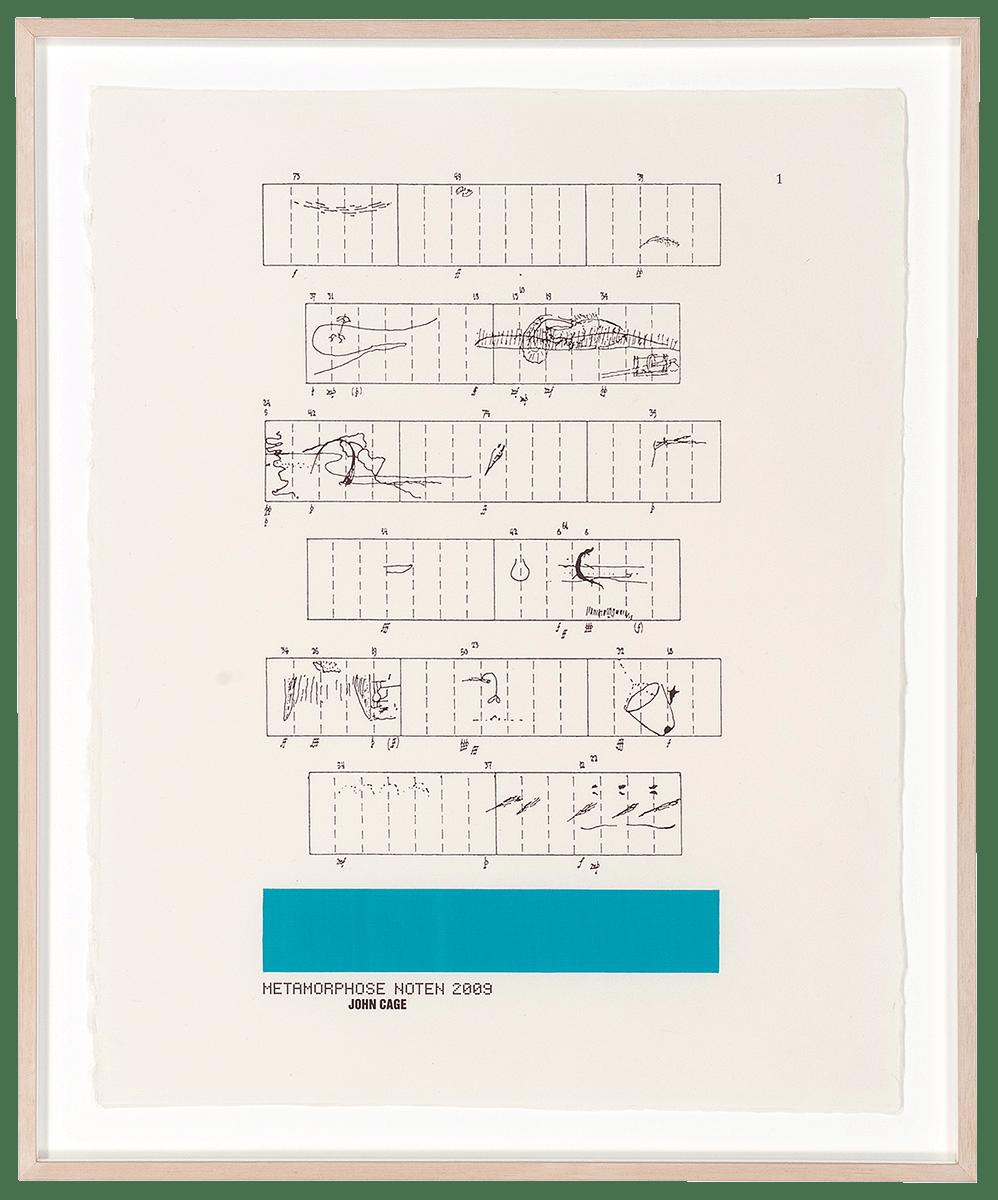 浅葉克己|「デザインの港。浅葉克己展。2009」 出品作(図形楽譜)