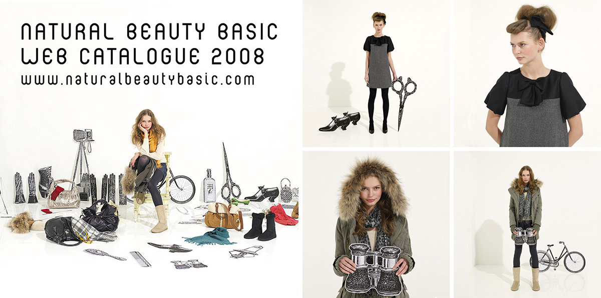 NATURAL BEAUTY BASIC 2008 Winter / 2008 | Web Catalogue
