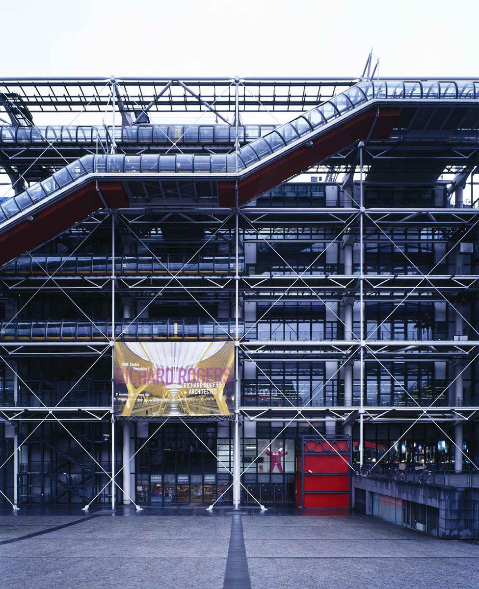 ポンピドゥー・センター「リチャード・ロジャース+アーキテクツ」展 / 2007年 | コミュニケーション・デザイン