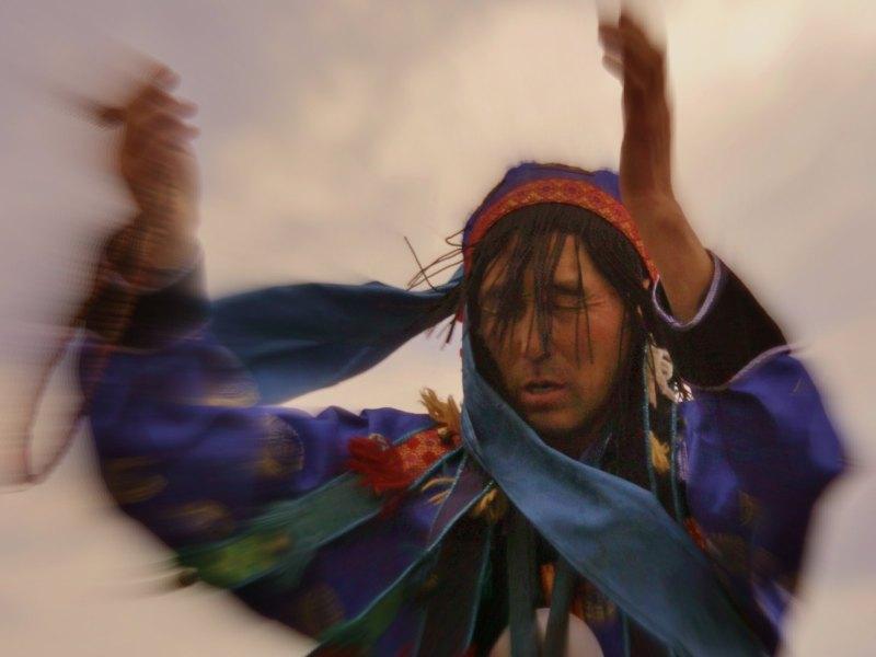 Shaman Buryat Sandan
