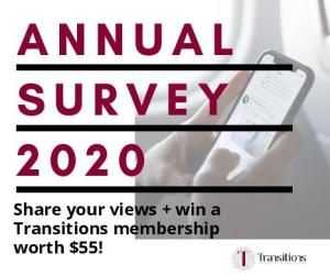 Annual reader survey 2020