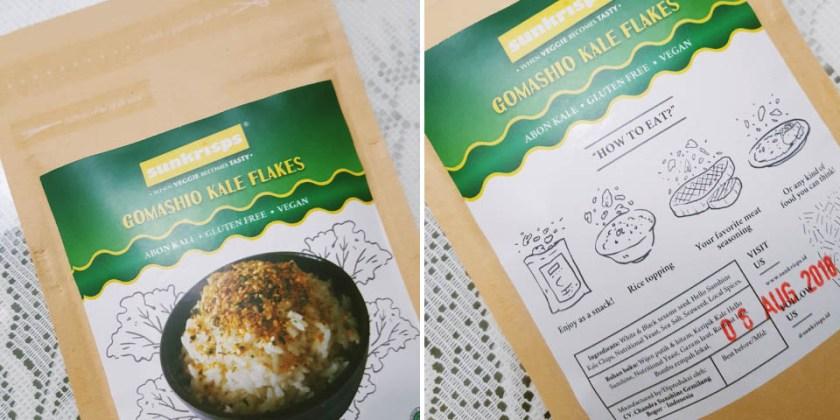 Gomashio Kale Flakes Sunkrisps