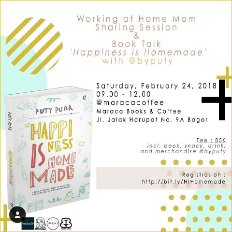 Happiness is Homemade Book Talk