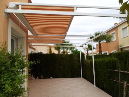 Toldo veranda horizontal alcorcon madrid
