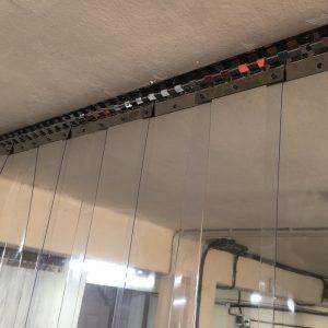 Confección a medida de cortinas de Lama Industrial