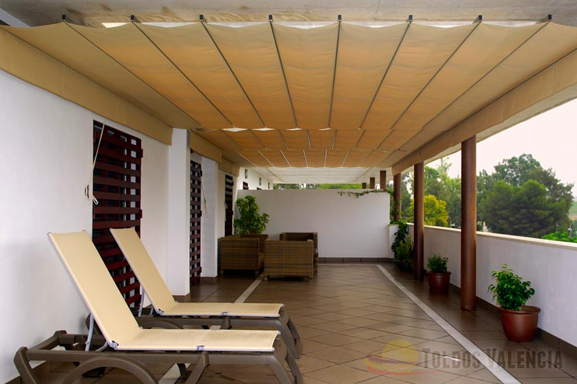 toldo extensible terraza