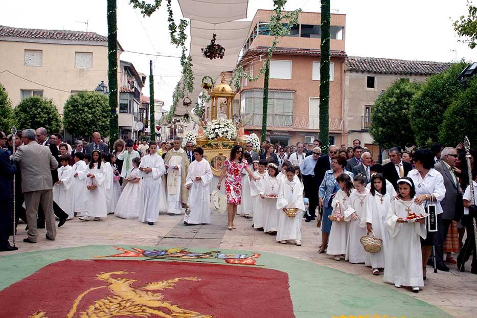 Procesión del Corpus Christi de Yepes