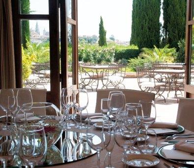 Restaurante en Toledo Cigarral de Caravantes
