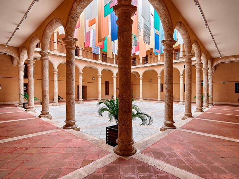 Patio del Ayuntamiento de Torrijos