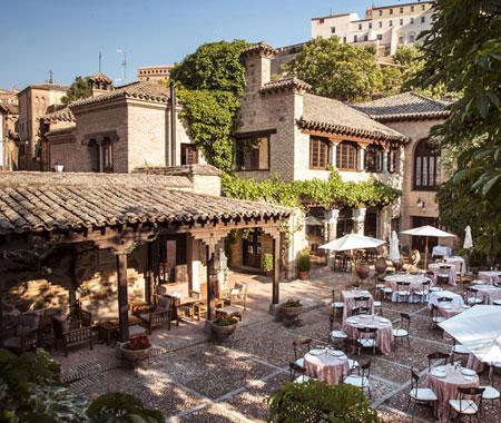 Terraza Hacienda del Cardenal en Toledo