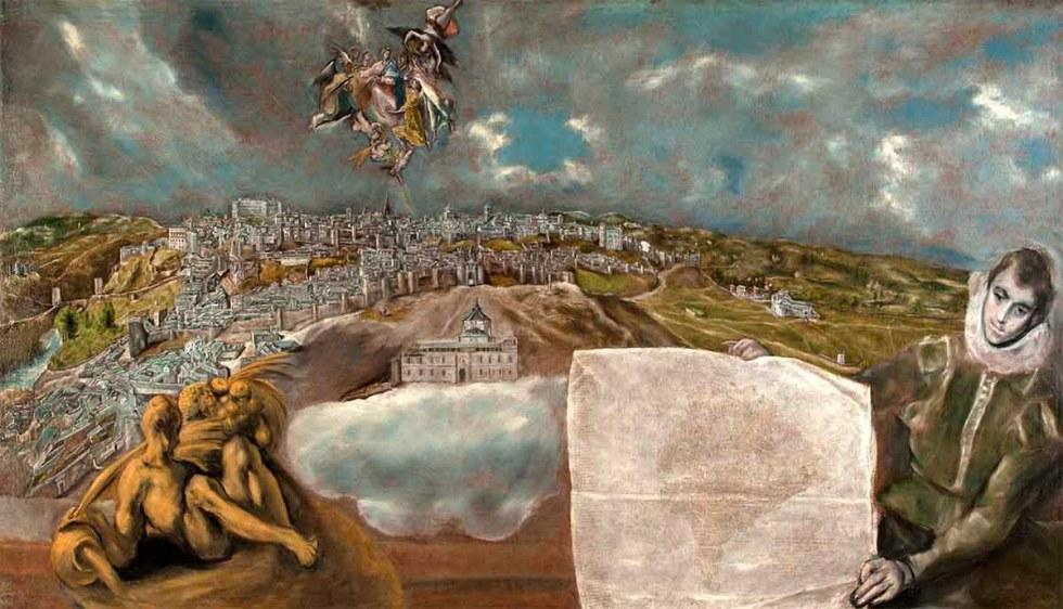 Vista y plano de Toledo, El Greco