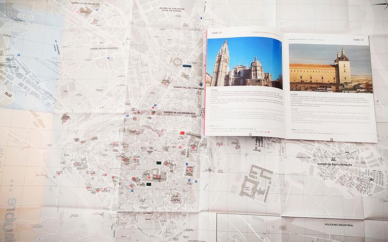 t-descubre Toledo número 1 2005 Plano desplegable