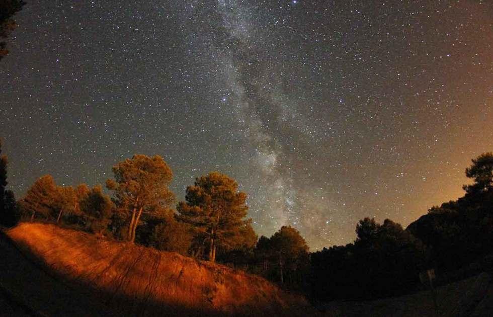 Cielo Nocturno de Fuertescusa