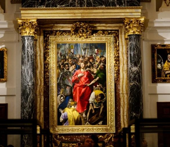 """""""El Expolio"""" de El Greco - Catedral de Toledo"""