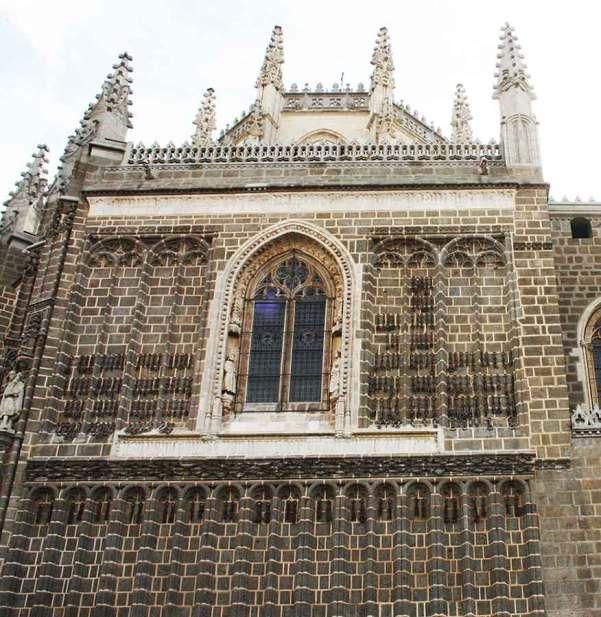 Cadenas de San Juan de los Reyes en Toledo
