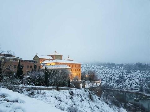 Cortes de Castilla la Mancha Toledo Nevado