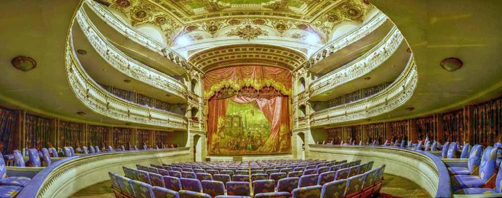 Escenario del Teatro de Rojas de Toledo