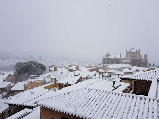 Vistas Paseo Virgen de Gracia Toledo Nevado