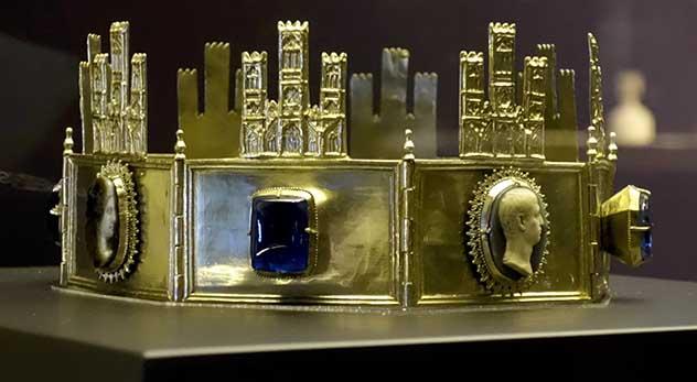 Corona de Sancho IV - Catedral de Toledo