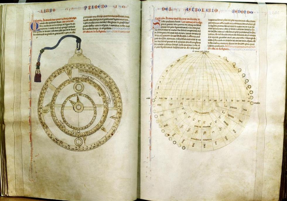 """""""Libro del saber de Astrología"""""""