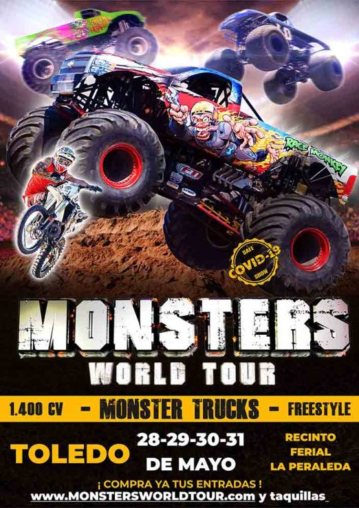 Monsters world tour Toledo