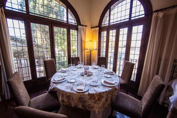 Restaurante romántico en Toledo