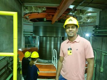 Visita a Usina Hidrelétrica de Itaipu Binacional